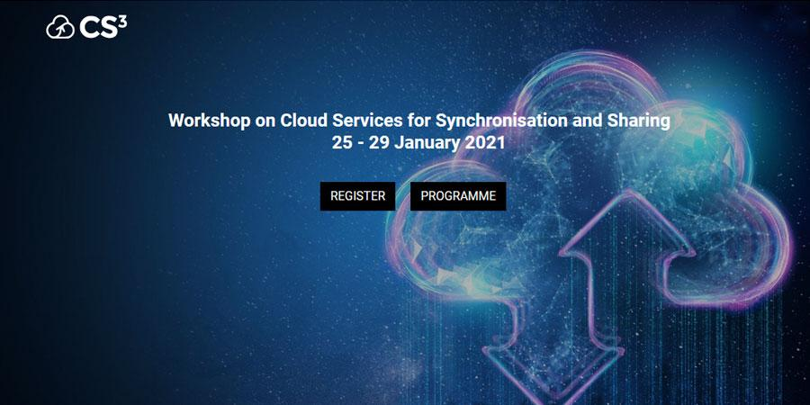 CS3 - Workshop on Cloud Services for Synchronisation and Sharing